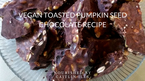 Toasted Pumpkin Seed Chocolate Recipe