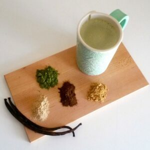 Immune Boosting Vegan Matcha Latte