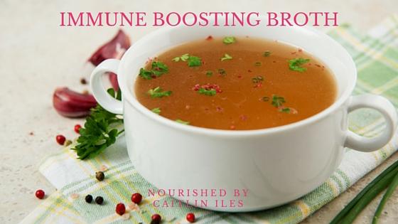 Immune Boosting Broth Recipe