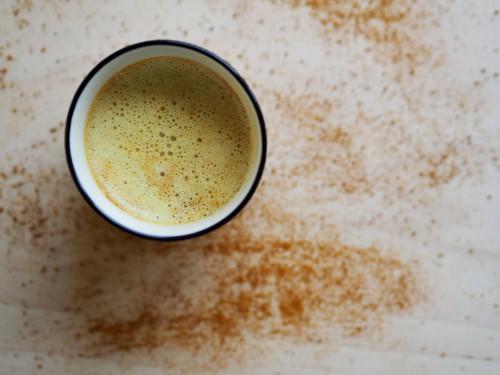 Vegan Turmeric Tea Latte Recipe