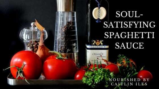 Soul-Satisfying Spaghetti Sauce Recipe