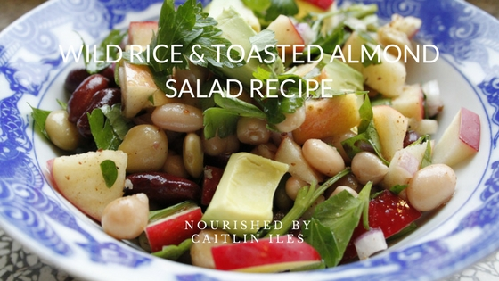 Wild Rice and Almond Salad Recipe