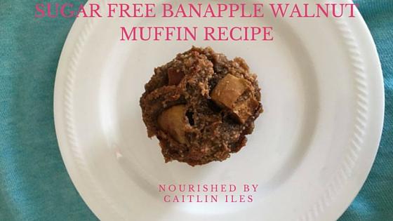 Banapple Walnut Muffin Recipe