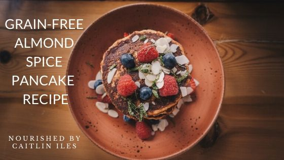 Grain-Free Almond Spice Pancake Recipe