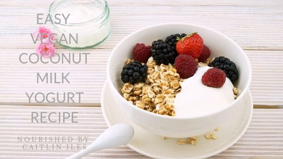 Easy Vegan Coconut Milk Yogurt Recipe