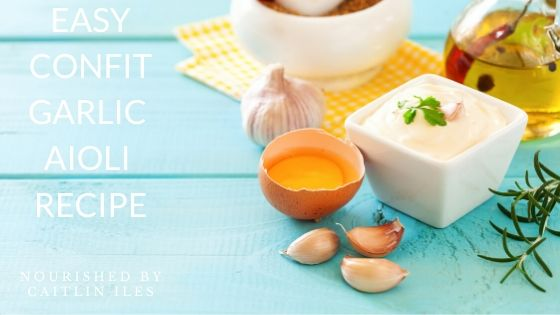 Easy & Delicious Confit Garlic Aioli Recipe