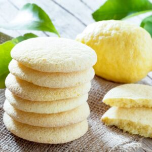 Paleo Vanilla Lemon Shortbread Recipe